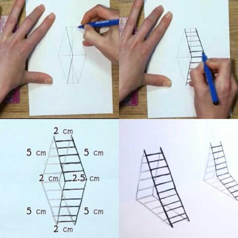 3д рисунки: ТОП-150 фото лучших способов и техник. Поэтапный мастер-класс рисования для начинающих своими руками
