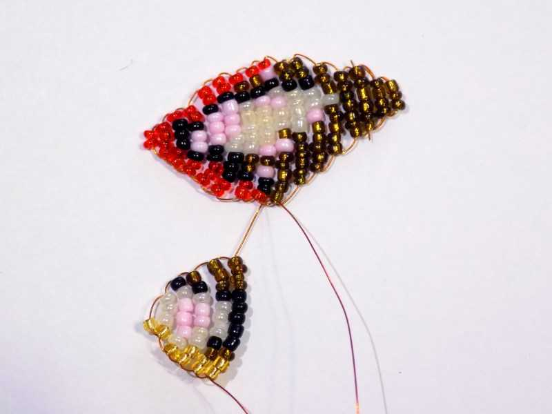 Бабочка из бисера: ТОП-100 фото с простыми схемами плетения бабочки своими руками. Необычные идеи из бисера + пошаговый мастер-класс