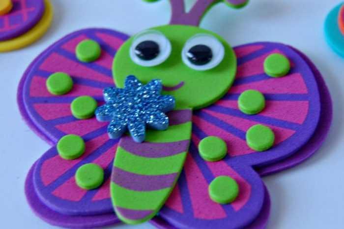 Бабочки из фоамирана: ТОП-140 фото и лучший мастер-класс по созданию бабочек  своими руками + пошаговые схемы работы с фоамираном