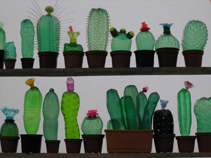 Цветы из пластиковых бутылок - подборка оригинальных идей поделок. Пошаговая инструкция как сделать цветы своими руками + фото-обзоры