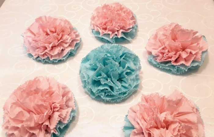 Цветы из салфеток своими руками — подробный мастер-класс с простыми схемами. Нестандартные решения создания цветов + фото готовых поделок