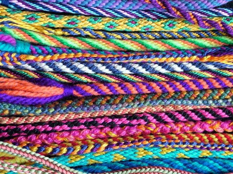Фенечки из ниток - простая инструкция по созданию фенечки. Схемы плетения из ниток своими руками + фото-обзоры оригинальных вариантов