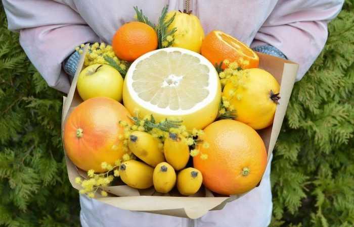 Фруктовые букеты своими руками — ТОП-200 фото с инструкцией создания букета из фруктов своими руками. Нестандартные идеи с простыми схемами и обзорами работ