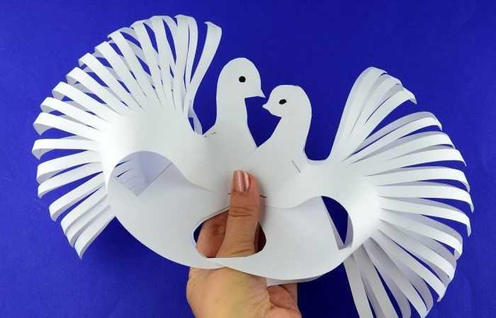 Голубь своими руками: ТОП-150 фото нестандартных вариантов поделок из подручных материалов. Пошаговые инструкции создания голубя для детей