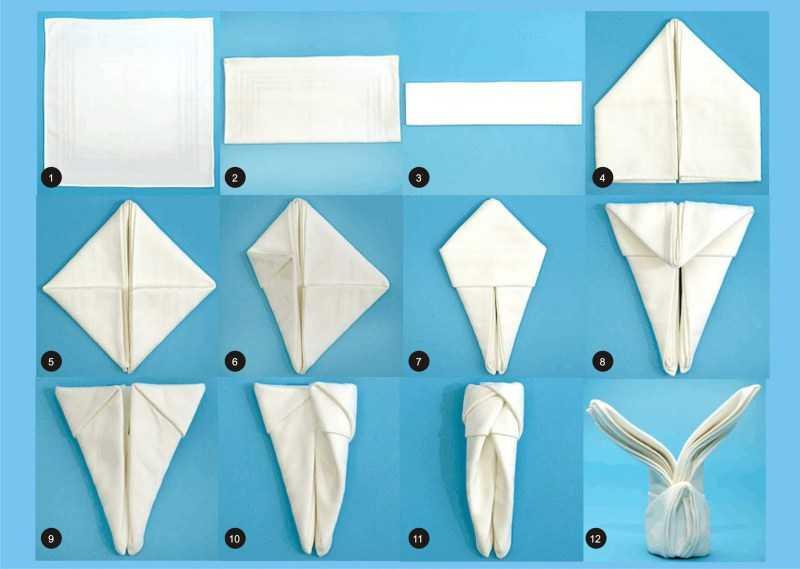 Как красиво сложить салфетки - ТОП-100 лучших фото-схем как сложить салфетку. Мастер-класс с полным описанием техник + обзоры интересных идей сервировки