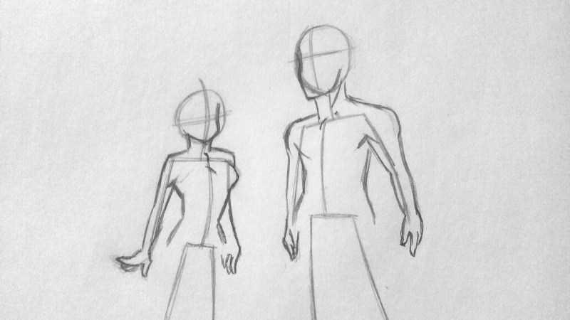 Как нарисовать аниме - полезные советы и простые схемы для начинающих. Инструкция с основными шагами рисования аниме (160 фото)