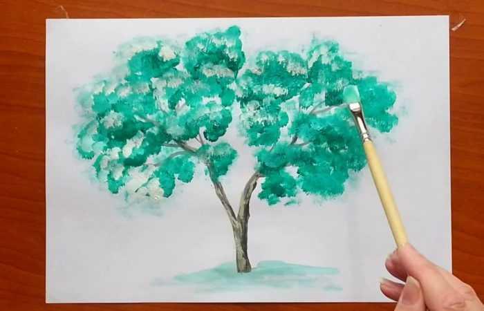 Как нарисовать дерево — лучшие способы рисования дерева своими руками. Простые схемы рисунков для начинающих с фото-примерами работ