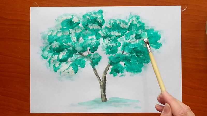 Как нарисовать дерево - лучшие способы рисования дерева своими руками. Простые схемы рисунков для начинающих с фото-примерами работ