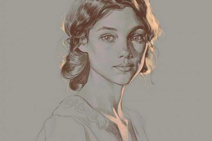 Как нарисовать лицо девушки карандашом 👱♀️ — инструкции как по рисованию карандашом для начинающих. Мастер-класс с описанием техники + фото лучших вариантов рисунка