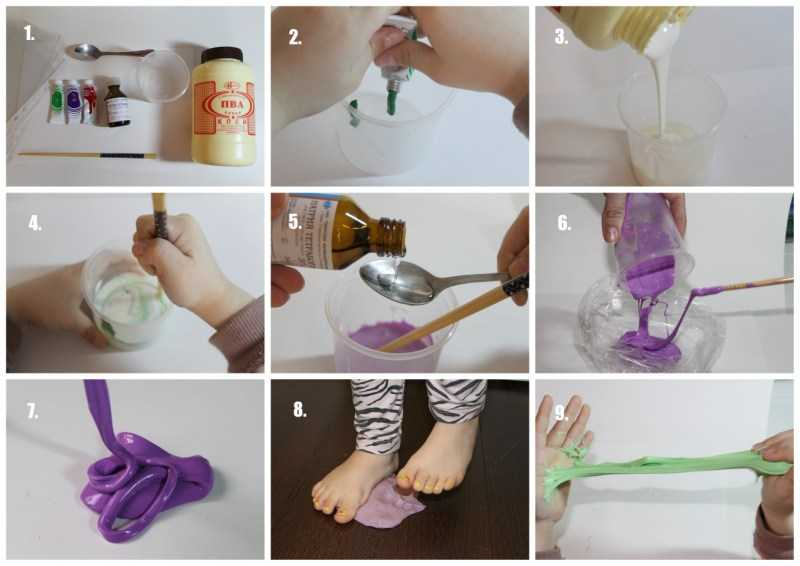 Как сделать лизун - лучшие способы создания лизуна в домашних условиях. Простые и быстрые рецепты с пошаговым мастер-классом для детей (150 фото)