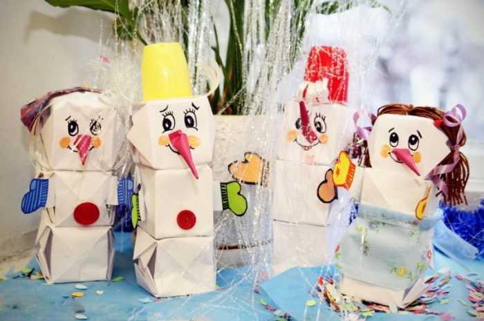 Как сделать снеговика своими руками: обзоры лучших способов создания снеговика. Простые схемы работы и пошаговый мастер-класс для детей (130 фото)