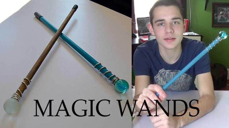 Как сделать волшебную палочку - лучшие способы изготовления поделки своими руками. Подробный мастер-класс для детей с фото и видео