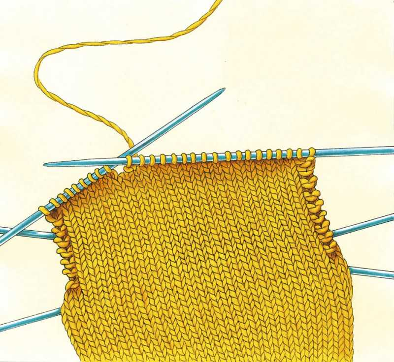 Как вязать пятку: поэтапные схемы вязания пятки. Простая инструкция для начинающих с фото-обзорами самых оригинальных изделий