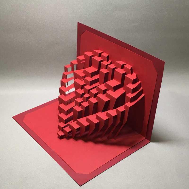 Киригами: шаблоны и схемы для вырезания для начинающих. Основы техники, простой мастер-класс с фото-обзорами