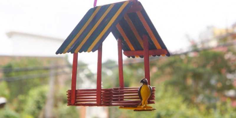 Кормушка для птиц своими руками: лучшие идеи изготовления простых и красивых кормушек своими руками + мастер-класс с фото-обзором