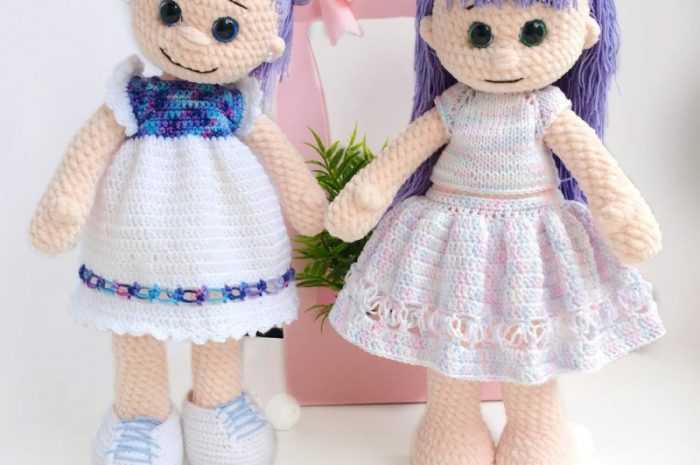 Куклы амигуруми 👗 — ТОП-120 фото лучших примеров кукол. Описание технологии изготовления + инструкция вязания своими руками