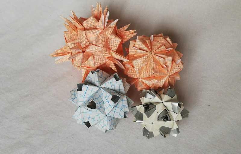 Кусудама: ТОП-150 фото оригинальных поделок. Схемы создания кусудама из бумаги своими руками. Поэтапный мастер-класс для начинающих