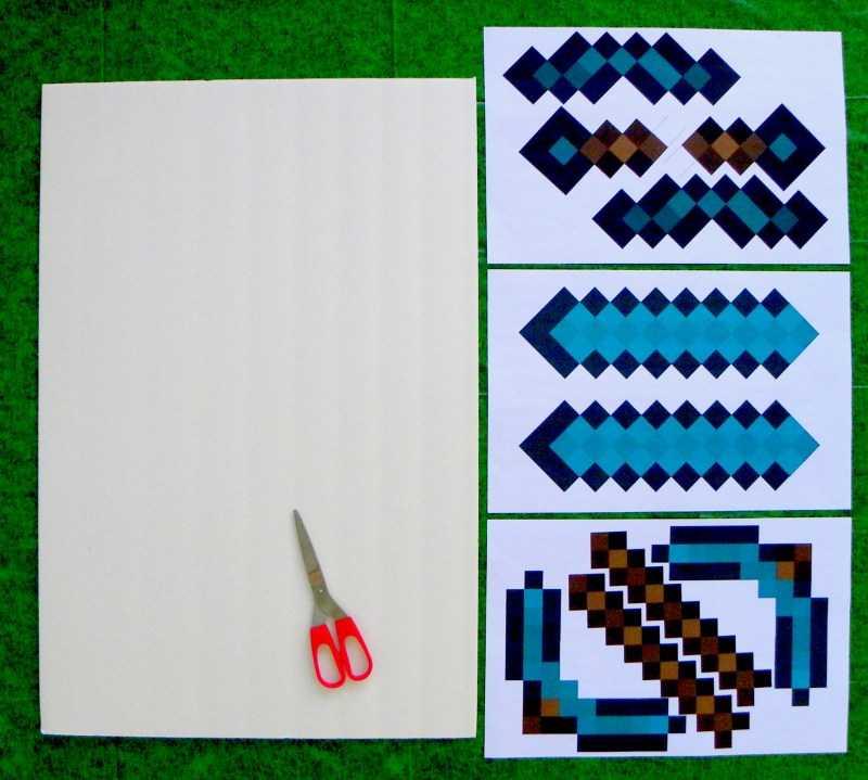 Меч из бумаги - ТОП-120 фото креативных решений создания бумажного меча + простая инструкция и схемы для детей