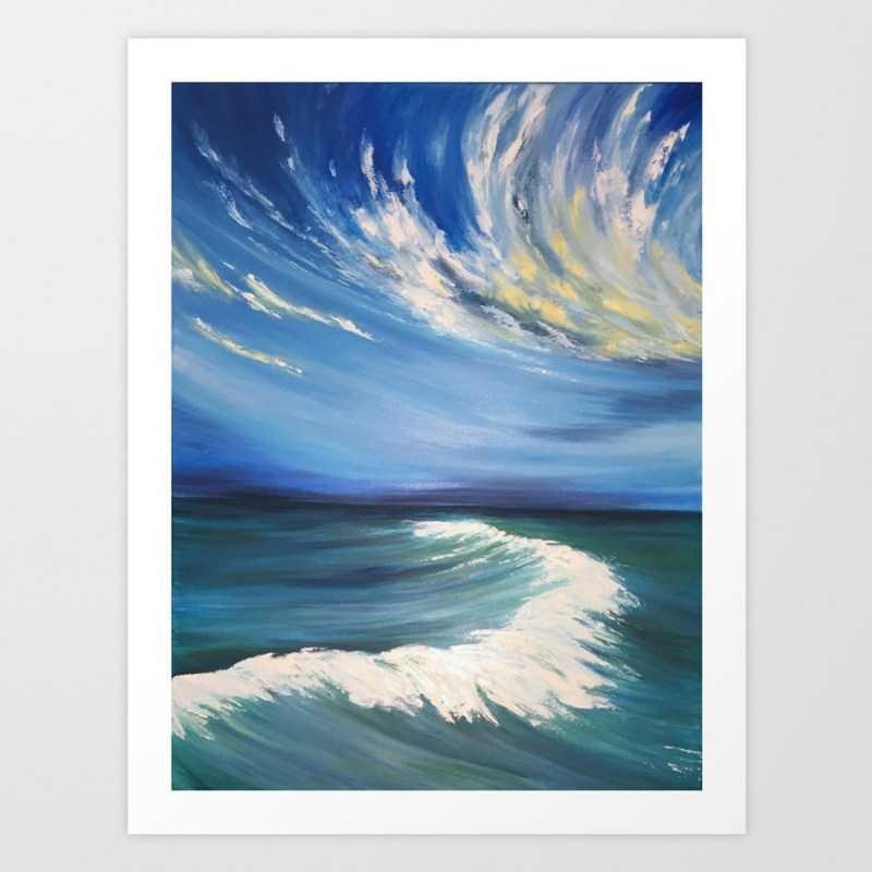 Море акварелью - инструкции по рисованию картин акварелью своими руками. Мастер-класс с описанием технологии + фото лучших работ