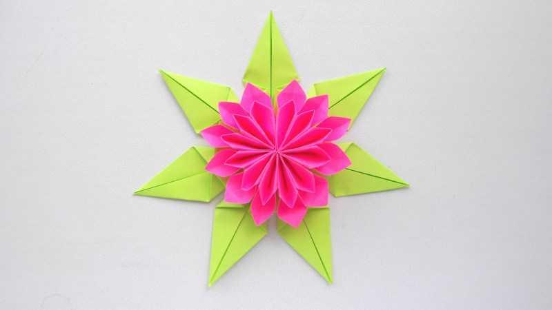 Лилия из бумаги - ТОП-100 фото лучших вариантов изделий. Мастер-класс с пошаговыми схемами и чертежами для создания лилии оригами своими руками