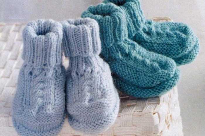 Пинетки спицами для новорожденных 🧶: подробные схемы вязания пинеток спицами для начинающих + 150 фото-обзоров лучших изделий