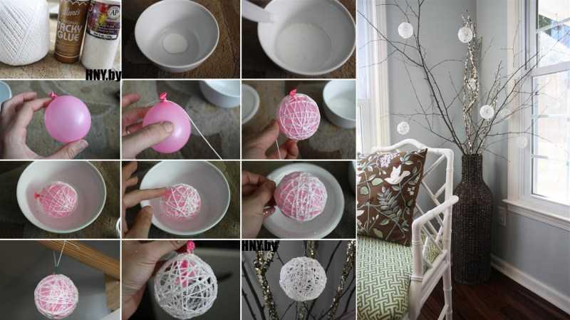 Поделки из ниток: простые схемы и креативные идеи поделок своими руками. Простые инструкции по изготовлению с фото-обзорами лучших поделок