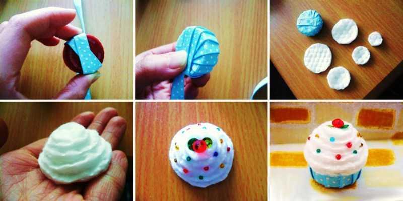 Поделки из ватных дисков - подробная инструкция создания поделки своими руками + самые оригинальные идеи для детей с фото-обзорами