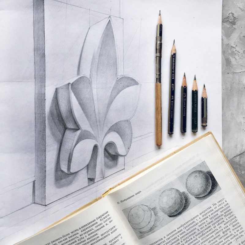 Рисунки карандашом легкие и красивые - мастер-класс по рисованию карандашом для начинающих. Простые схемы с описанием работы + фото лучших идей рисунка