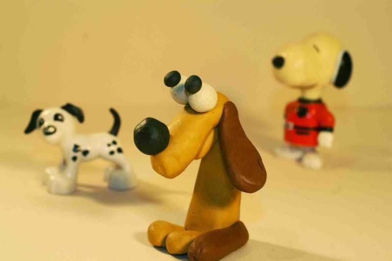 Собака из пластилина - ТОП-180 фото необычных идей создания поделки. Подробный мастер-класс по лепке своими руками для детей