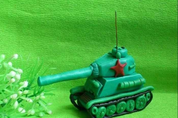 Танк из пластилина: пошаговая инструкция лепки с простыми схемами работы. Мастер-класс для детей по созданию танка своими руками + фото-обзоры