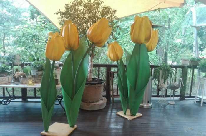Поделка тюльпаны из бумаги — ТОП-100 фото интересных идей создания тюльпанов из бумаги + простая инструкция для начинающих