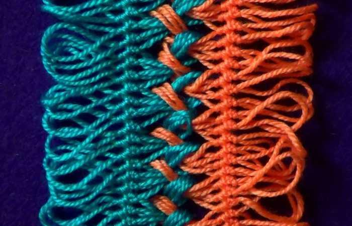 Вязание на вилке: особенности техники вязания на вилке. Пошаговый мастер-класс по созданию изделий для начинающих + 120 фото