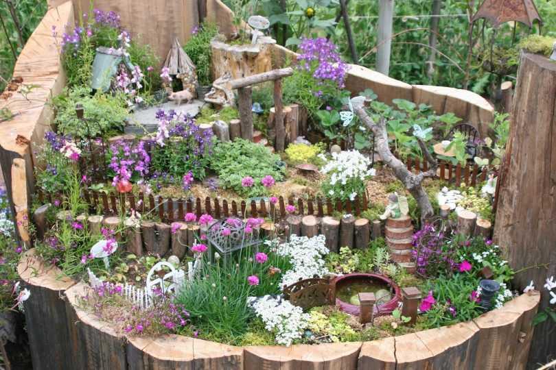 Украшения для сада своими руками: 150 фото оригинальных идей и новинок. Инструкции с пошаговым руководством, схемами и чиртежами